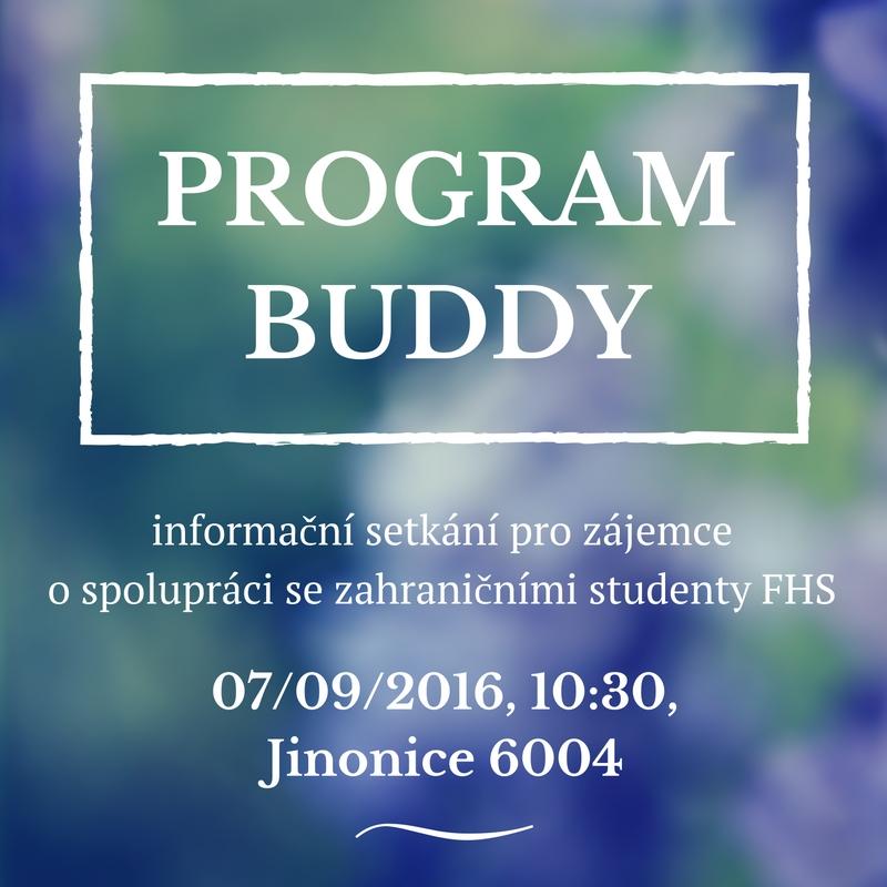 Schůzka Buddy program